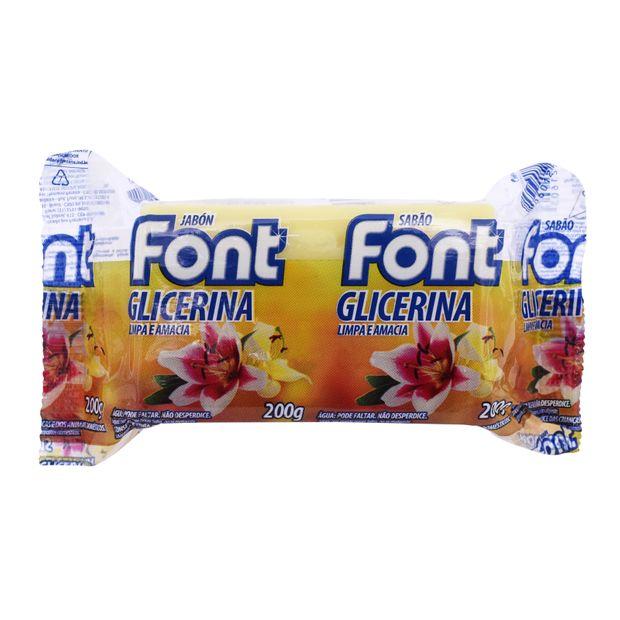 Sabão Font Glicerina 200g