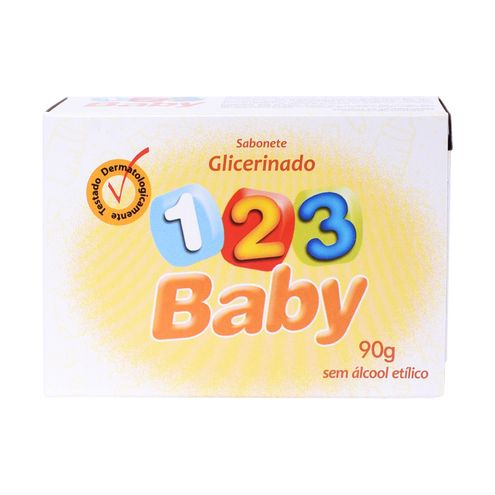Sabonete 123 Baby Glicerinado 90g