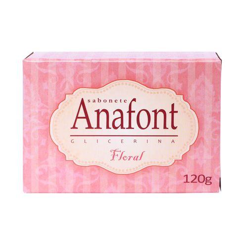 Sabonete Anafont Glicerina Floral 120g.(Cód.316576).