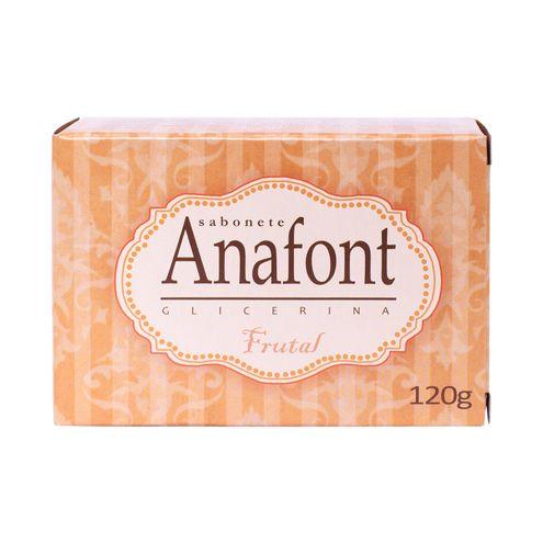 Sabonete Anafont Glicerina Frutal 120g.(Cód.316577).