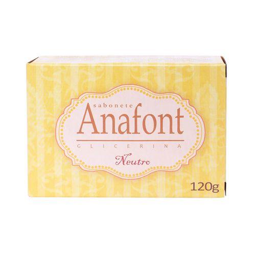 Sabonete Anafont Glicerina Neutro 120g