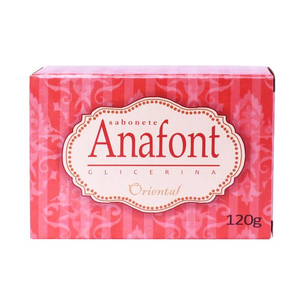 Sabonete Anafont Glicerina Oriental 120g