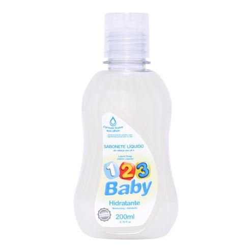 Sabonete Líquido 123 Baby Hidratante 200ml