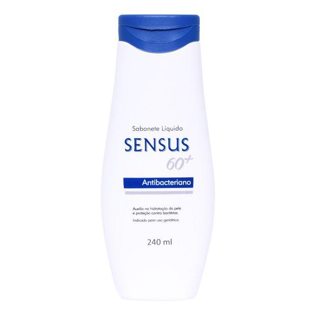 Sabonete Líquido Sensus 60+ Antibacteriano 240ml