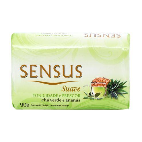 Sabonete Sensus Suave Chá Verde e Ananás 90g