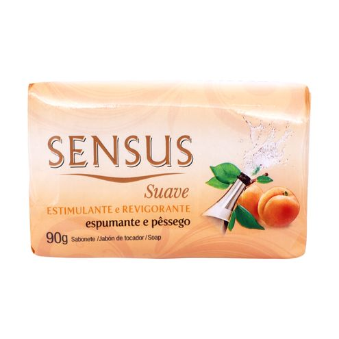 Sabonete Sensus Suave Espumante e Pêssego 90g