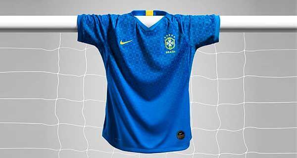 Camisa Nike Brasil II Torcedora 2019/20 Feminina