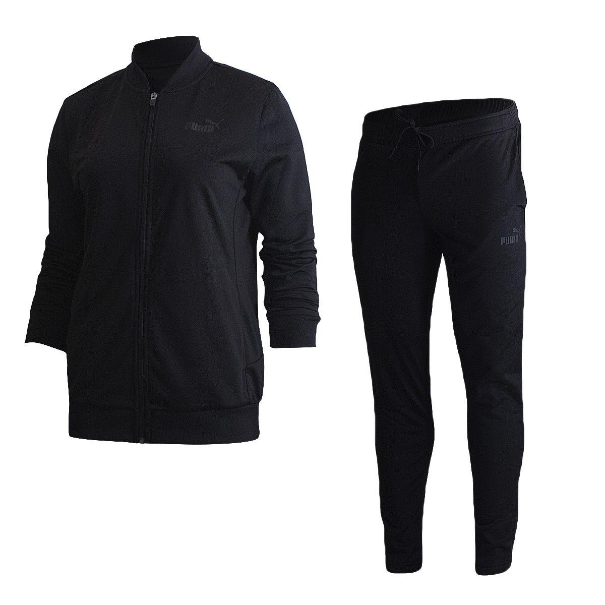 4f4e7baff2e Agasalho Puma Clean Tricot Suit