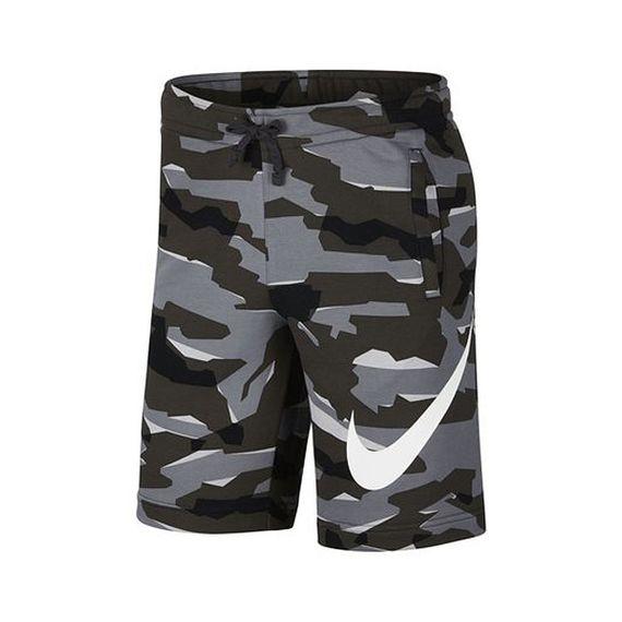 Bermuda Moletom Nike Camuflada