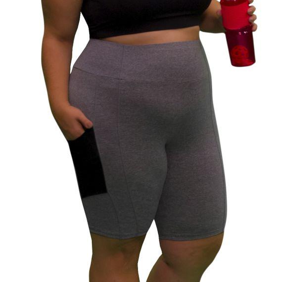 Bermuda Plus Size Way Pocket