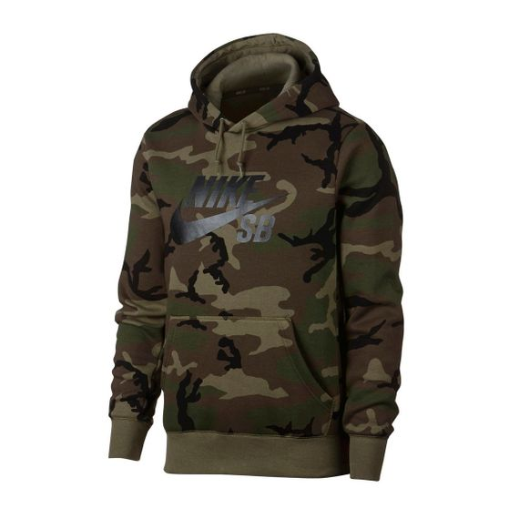 Blusão Nike SB Icon Camo Skate Hoodie