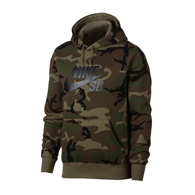 new arrivals official supplier buy sale Blusão Nike SB Icon Camo Skate Hoodie