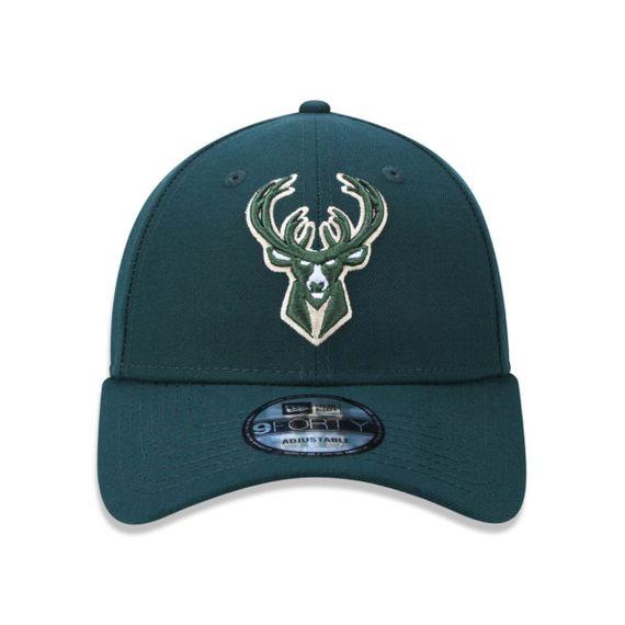 Boné New Era 940 Milwaukee Bucks