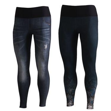 Calça Fuso Live Jeans Reversible City Feminina
