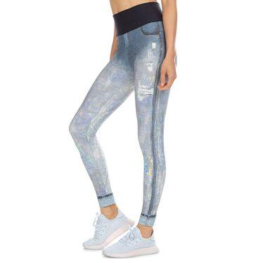 Calça Legging Live Hologram Jeans