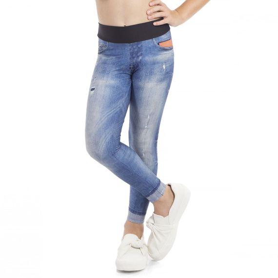 Calça Legging Live Jeans Essential Infantil