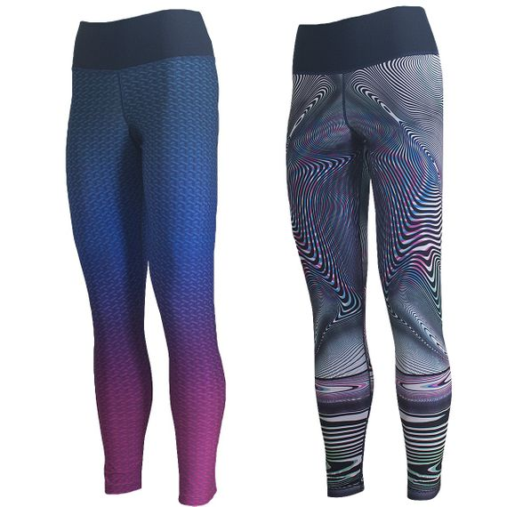 Calça Legging Live Reversible Optical Feminina