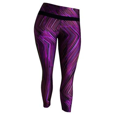 Calça Legging way Plus Size Estampada