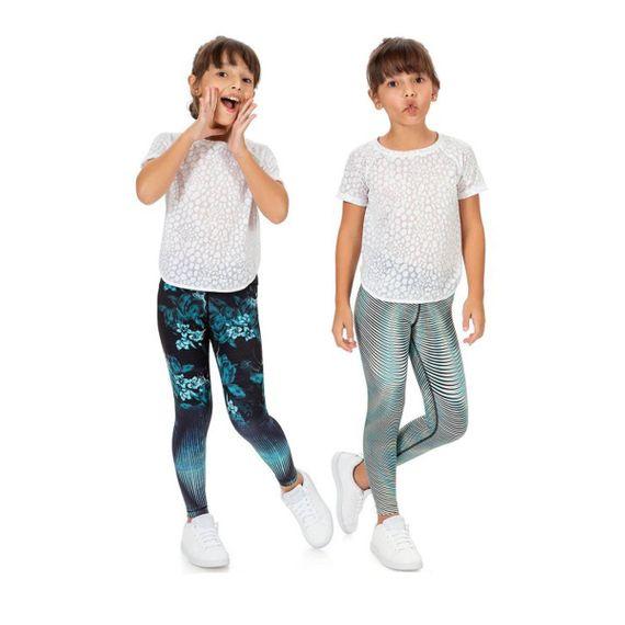 Calça Legging Reversible Balance Infantil
