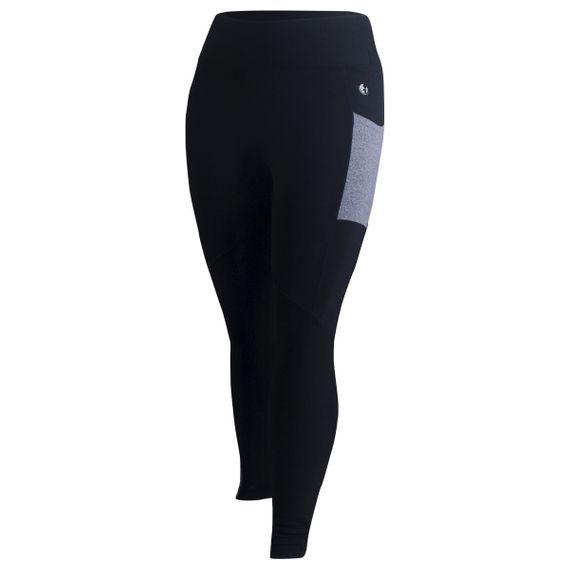 Calça Plus Size Legging Way Bicolor