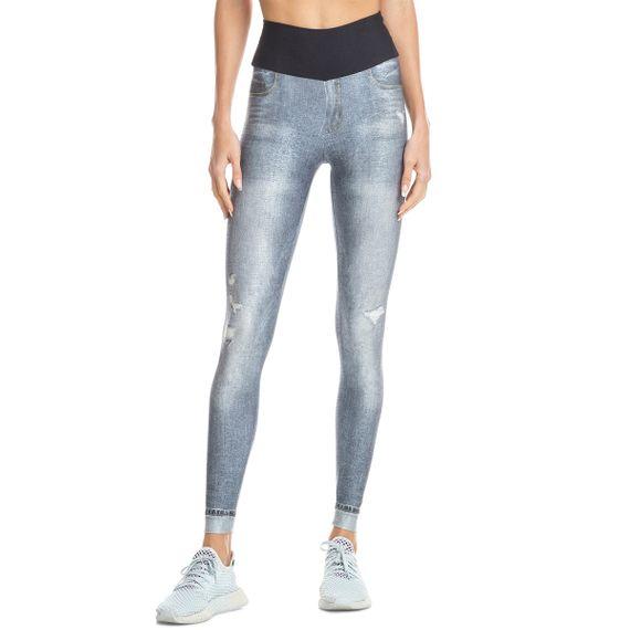 Calça Live Fuso Jeans Marbled