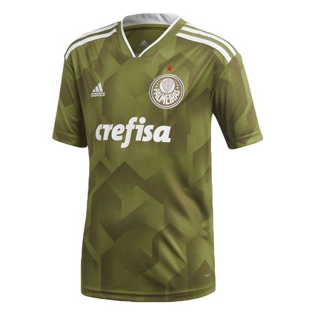 39ee336198e0d Camisa Adidas Palmeiras III Infantil