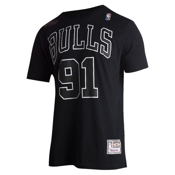 Camiseta Mitchell & Ness Chicago Bulls