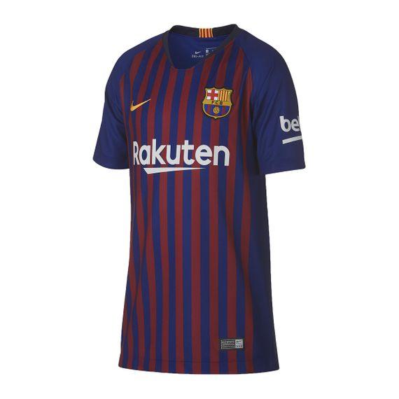 Camisa Nike Barcelona Home Infantil