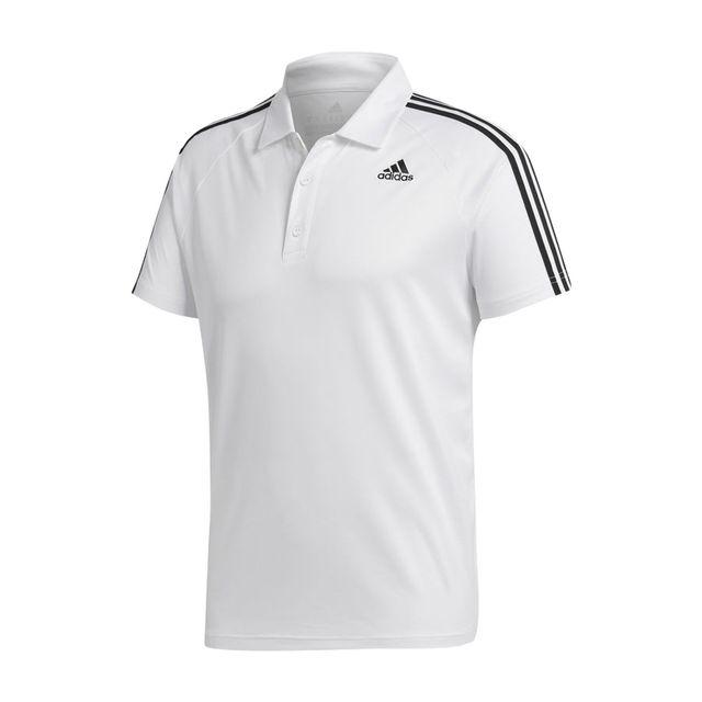 Camisa Polo Adidas 3S D2M  86b1f4b267b28