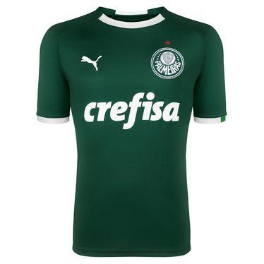 Camisa Puma Palmeiras Home Infantil