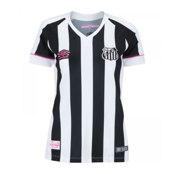 Camisa Umbro Santos OF 2 Sereias 2018