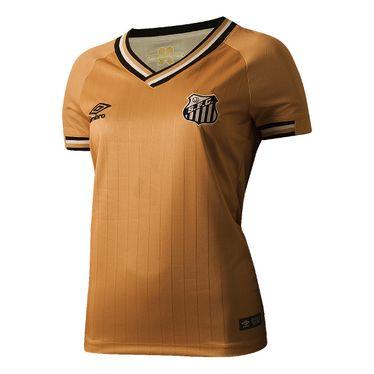 Camisa Umbro Santos Of 3 2018 Feminina