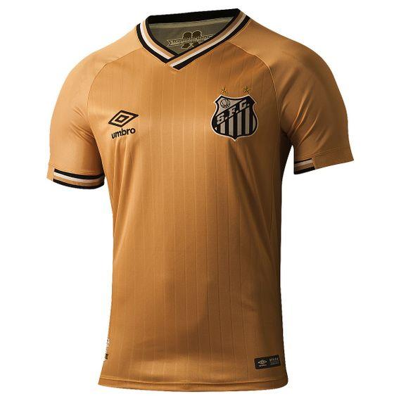 Camisa Umbro Santos Of 3 2018 Infantil