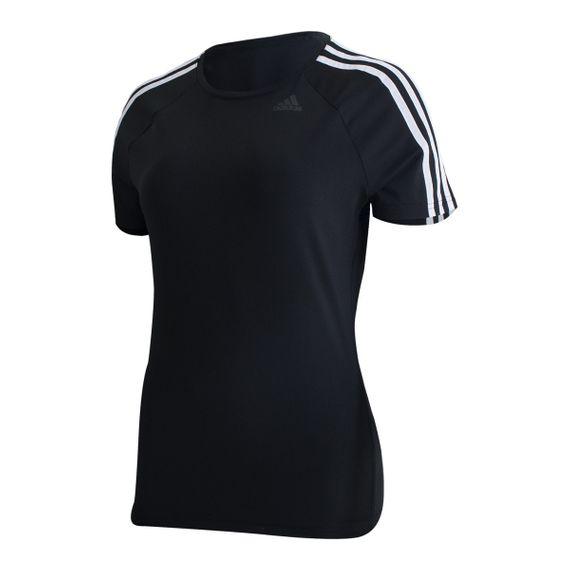 Camiseta Adidas 3S D2M Feminino