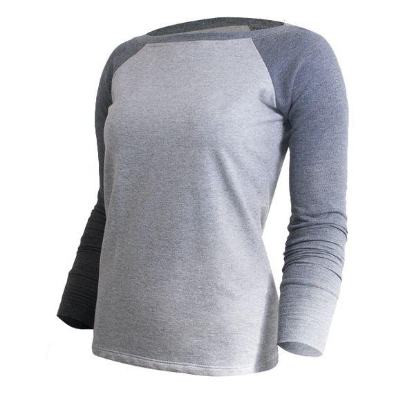 Camiseta Gamaia Basic Moletom ML
