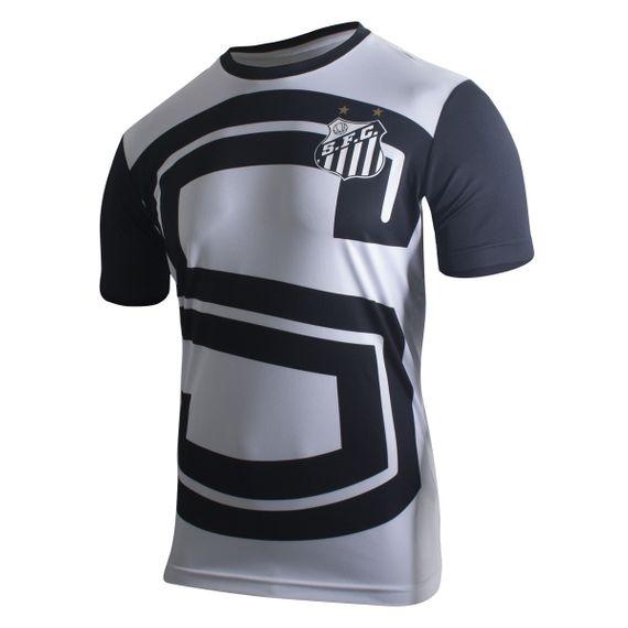 Camiseta Kappa Santos Aquecimento I 2017