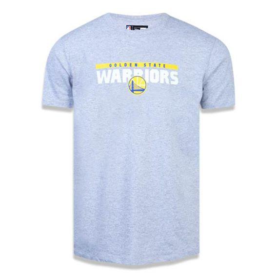 Camiseta New Era Golden State Warriors-Masculina