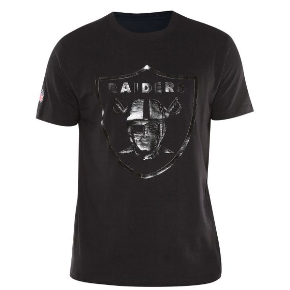 Camiseta New Era Oakland Raiders-Masculina