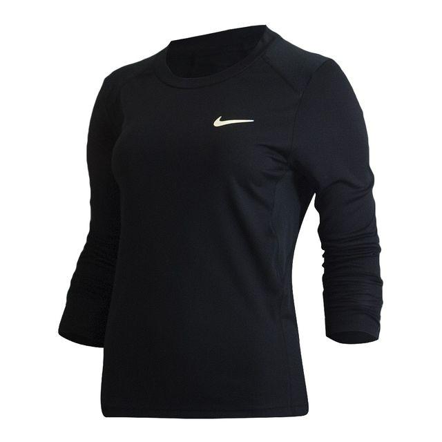 Camiseta Nike Dry Miler Top LS Feminina  d273d7b87f5e5