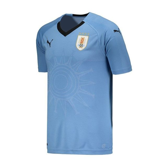 Camiseta Puma Uruguai Home  13c2cd57736