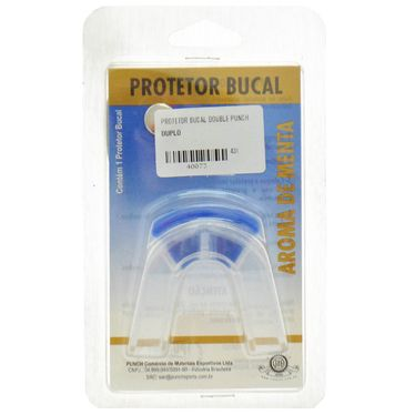 Protetor Bucal Double Punch
