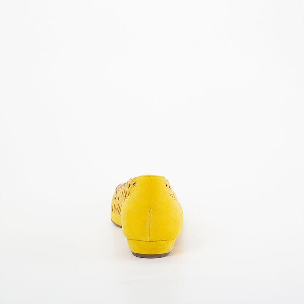 Sapatilha Invoice Amarelo com Strass