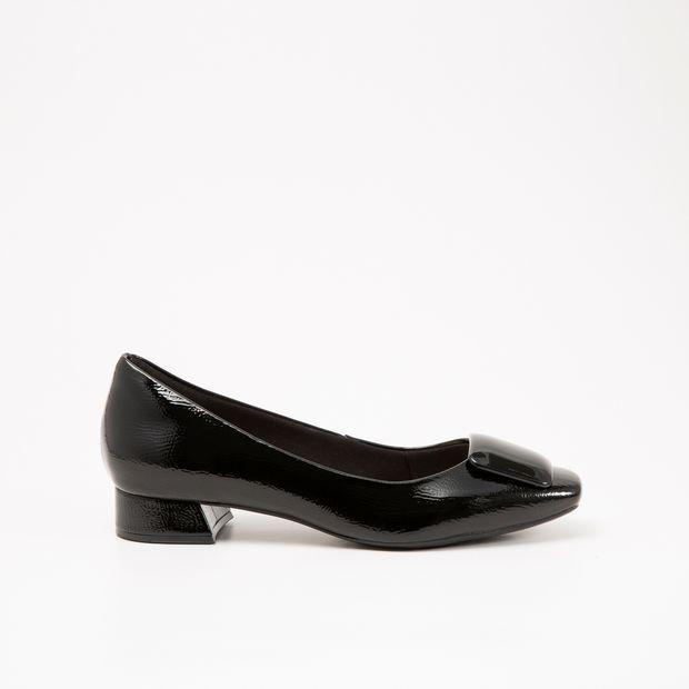 Sapato Invoice Verniz Preto