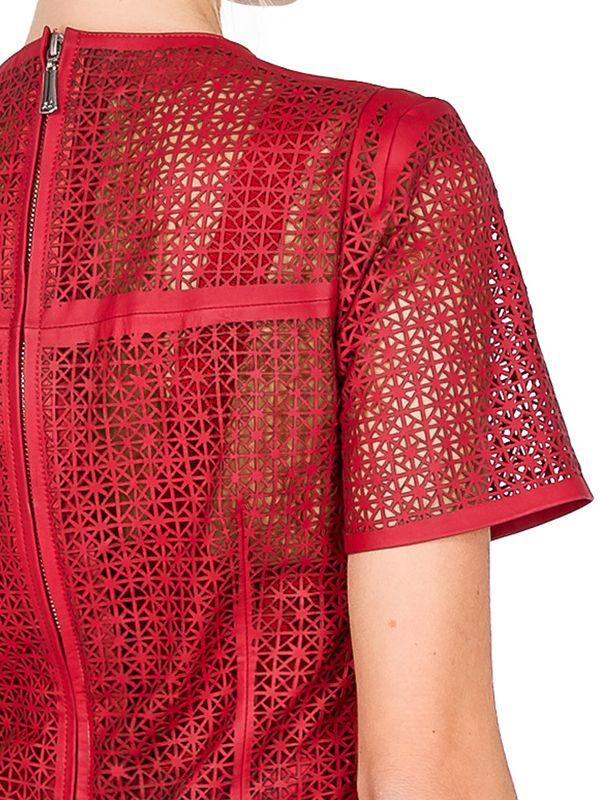 Camiseta Toda Vazada em Laser Ladrilho - Liziane Richter