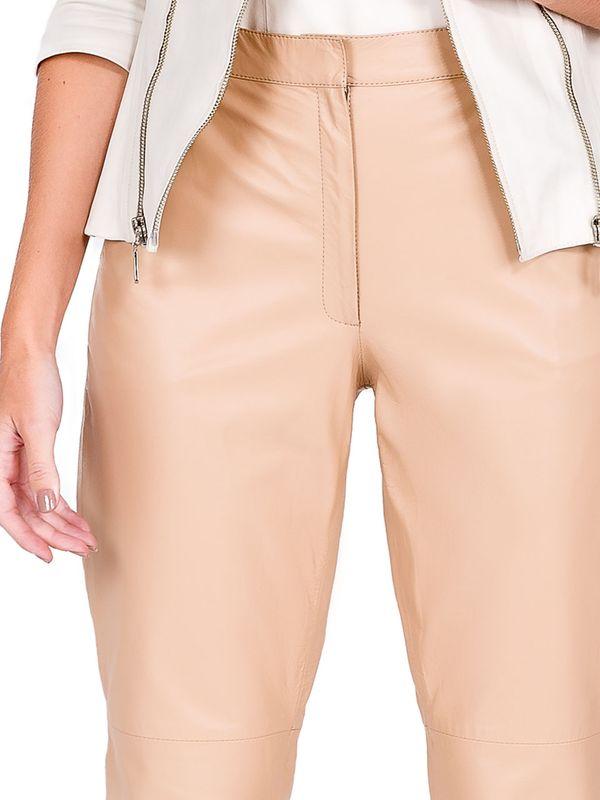 Calça Cropped Lisa com Bolso - Liziane Richter