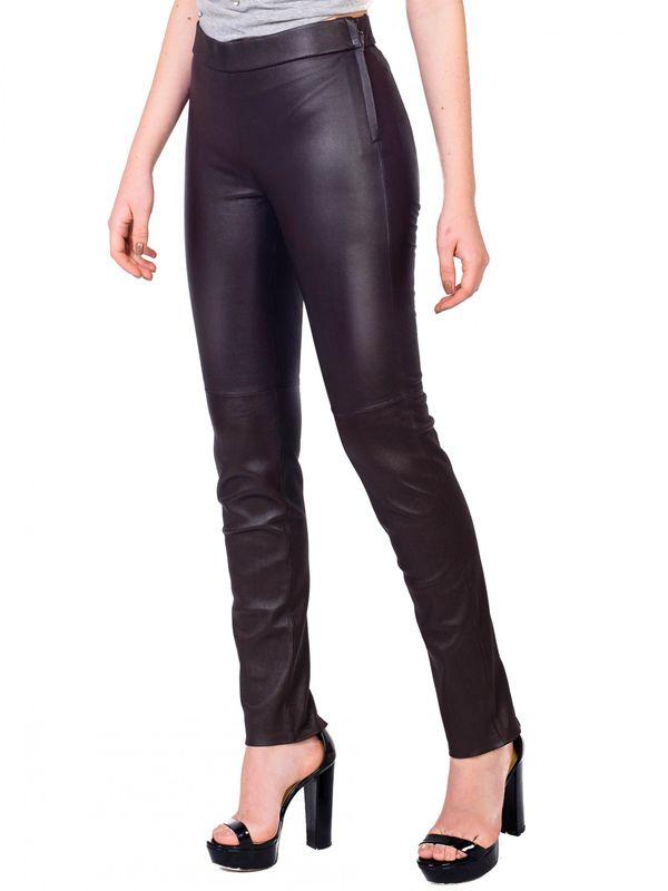 Calça Skinny de Couro Stretch - Liziane Richter