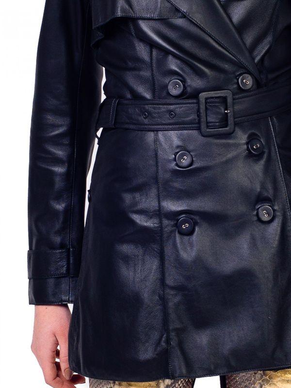 Casaco Trench Coat com Sobreposição - Liziane Richter