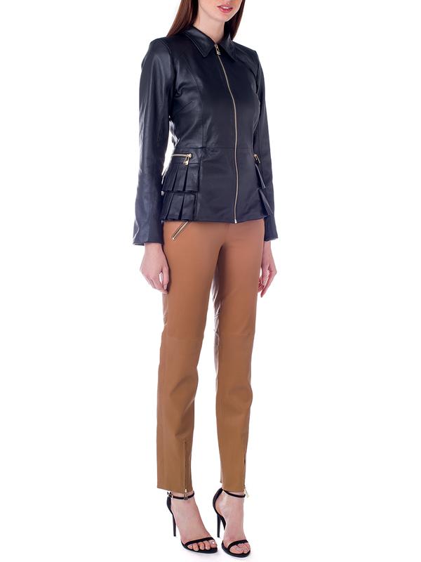 Jaqueta com Detalhe de babados