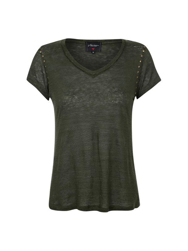 T-shirt de tachas - J CHERMANN