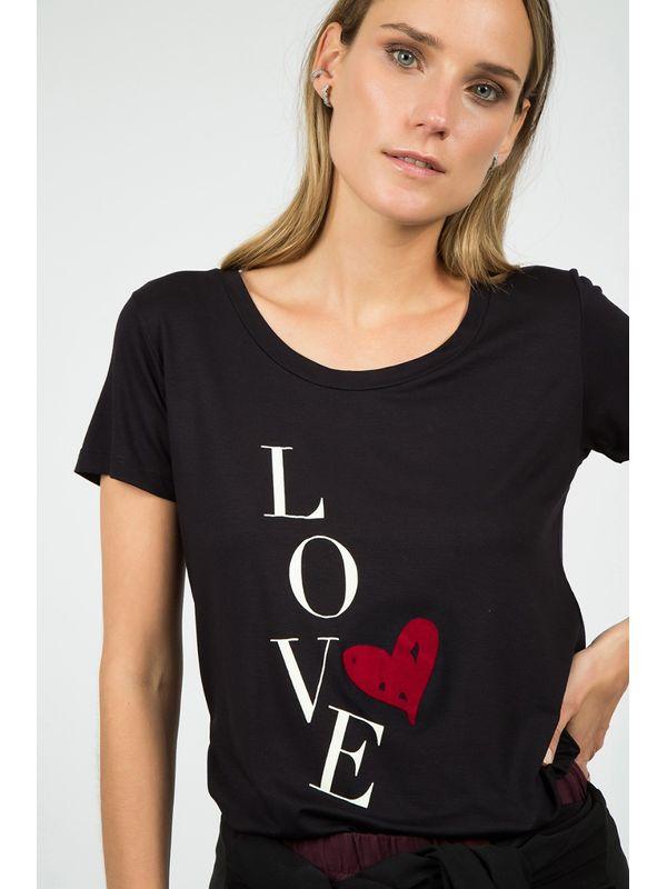 T-shirt Love Coração - J CHERMANN